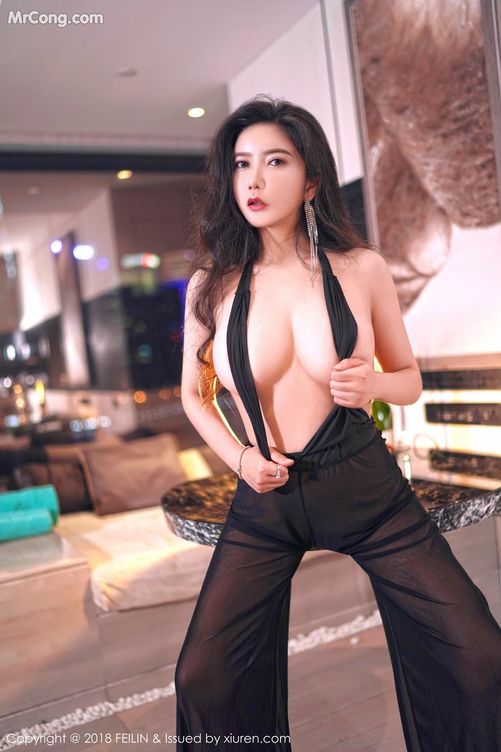Image FEILIN-Vol.130-Xin-Yan-Gong-Zhu-MrCong.com-007 in post FEILIN Vol.130: Người mẫu Xin Yan Gong Zhu (心妍公主) (39 ảnh)