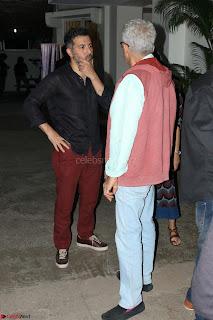 Nimrat Kaur and Naseeruddin Shah at Special Screening Of movie The Sense Of An Ending 07.JPG