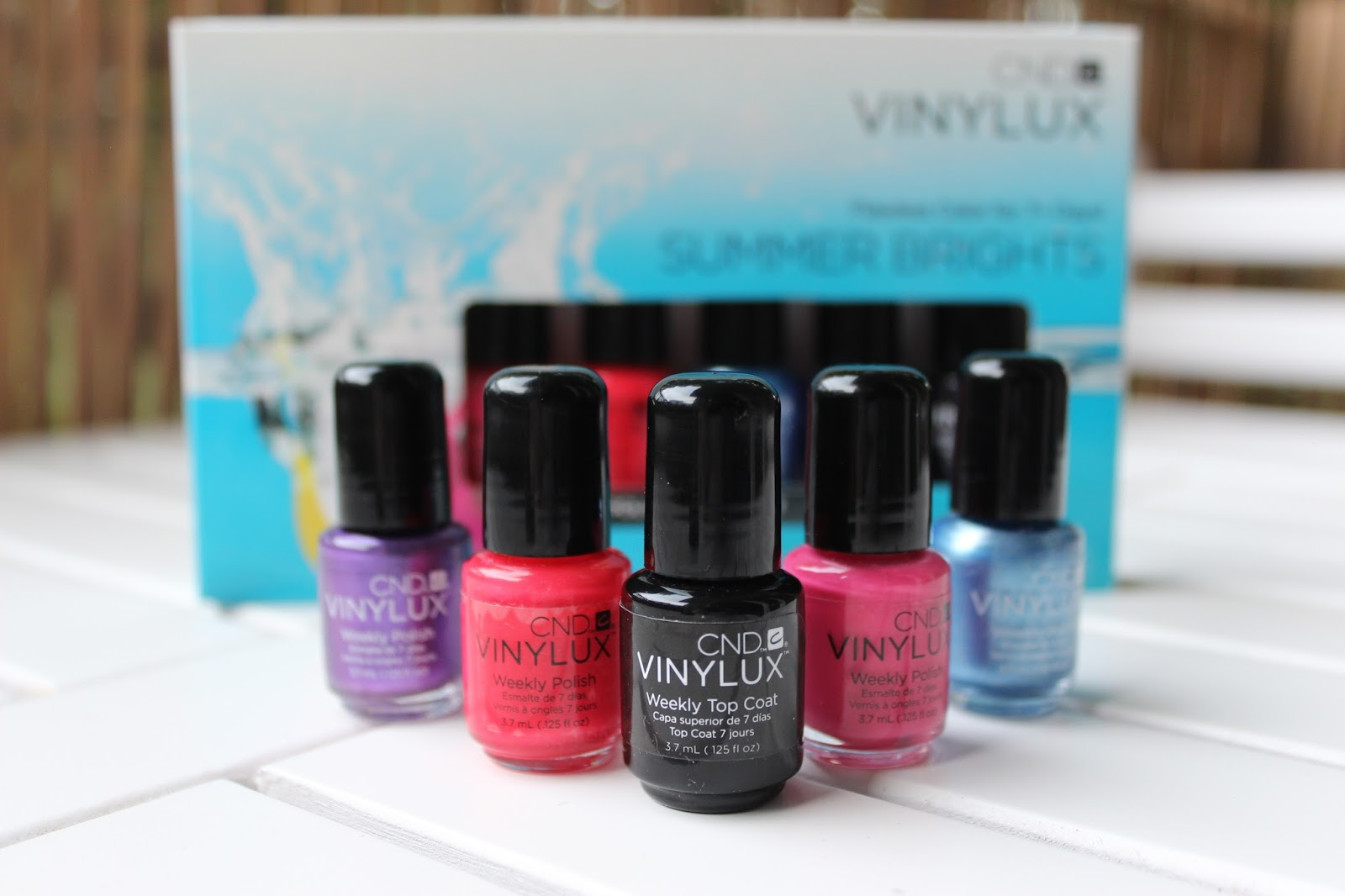 Nails of the week- CND Vinylux Weekly Polish Review: Summer Brights Collection   Mrs Jones London