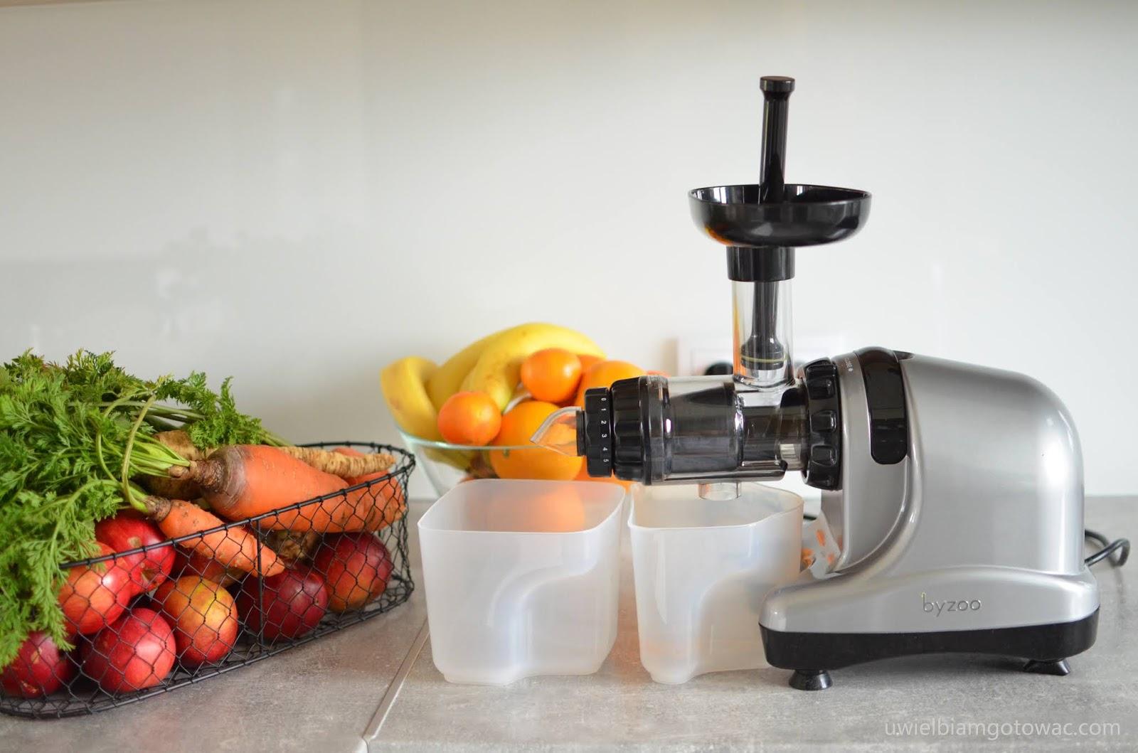 Nietypowy Okaz Uwielbiam gotować: Wyciskarka Byzoo Rhino do owoców, warzyw i ziół ZF71