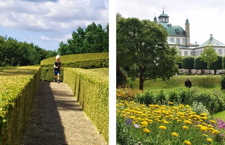 Oplevelser i Fredensborg. Stauder i den reserverede have og labyrint i Slotshaven