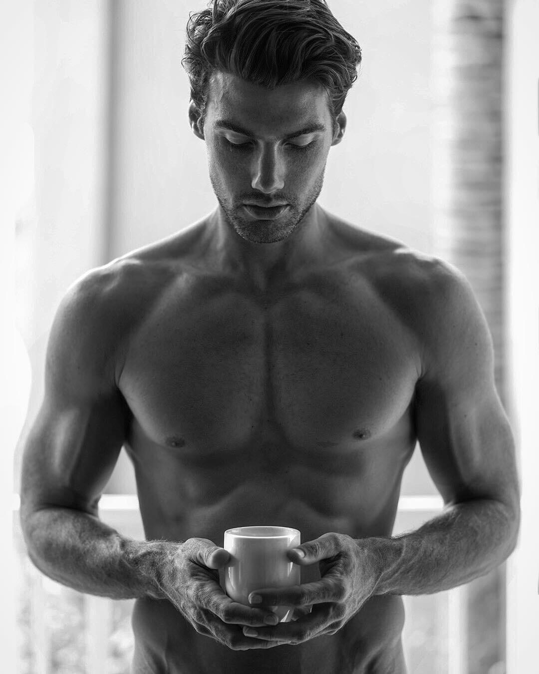Картинка кофе с мужчиной