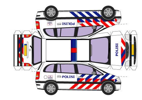 860 Koleksi Gambar Mobil Polisi Dari Kardus Terbaru