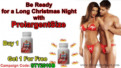 Prolargentsize Christmas Campaign