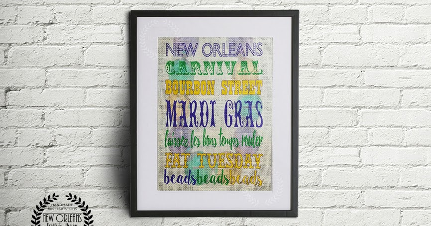 New Orleans Crafts By Design New Orleans Mardi Gras