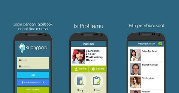 Belajar Soal-soal SD, SMP, dan SMA di Android Dengan Aplikasi Ruang Soal