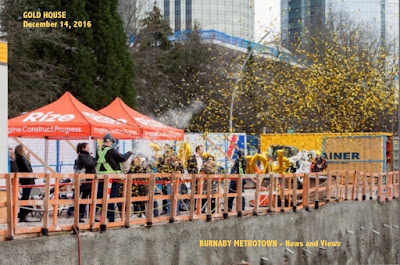 GOLD HOUSE - foundation ceremony - Burnaby Metrotown