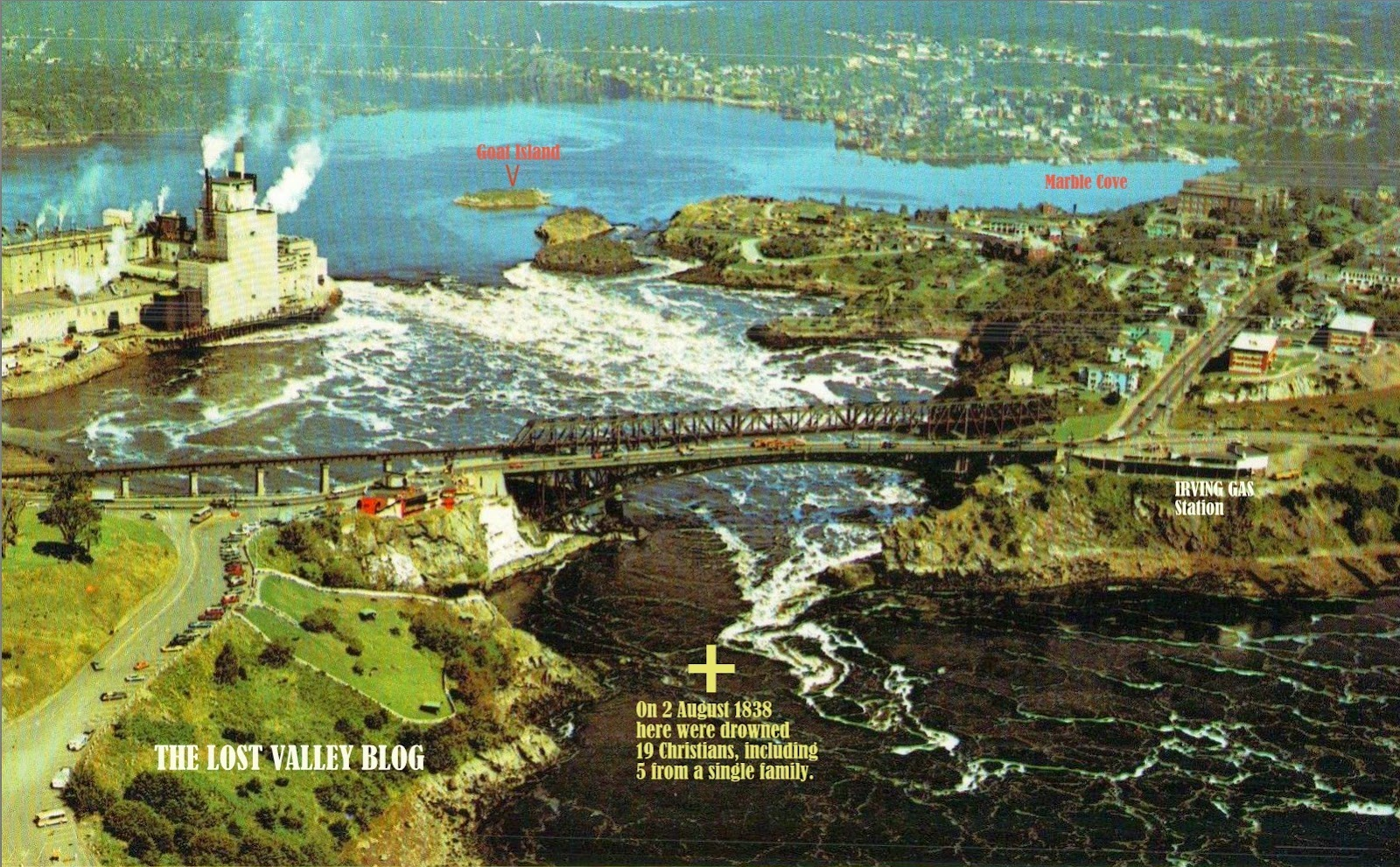 Reversing Falls Tragedies The Mass Drowning Of 1838 And Hermit Bad Boy Buggy Ambush Wiring Diagram 19 Christians Drowned At St John Nb August