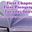 First Chapter ~ First Paragraph #105