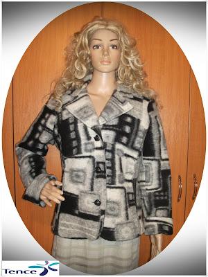 Jacheta *Tence*, lana pura, superba