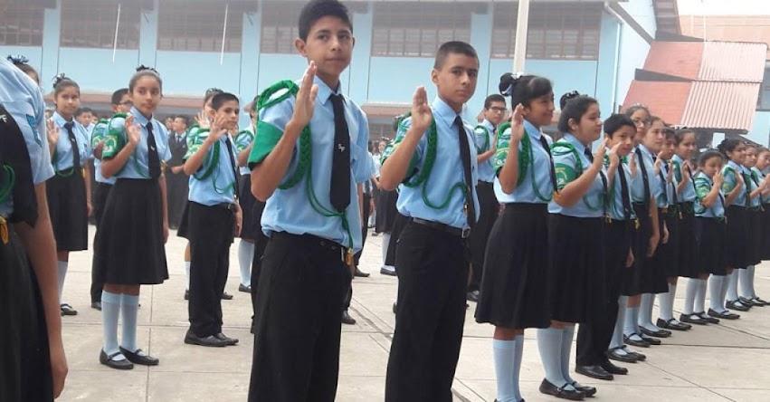 MINEDU recuerda que formación en colegios no debe durar más de 15 minutos - www.minedu.gob.pe