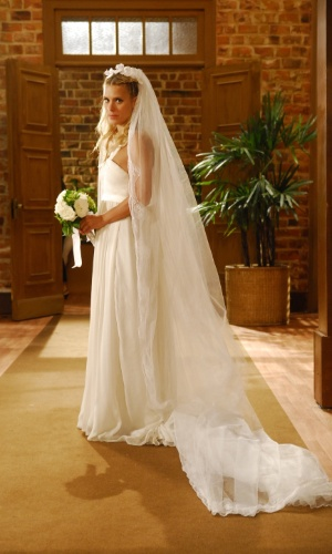 Suzana (Carolina Dieckman), vestido de noiva, Lethicia Bronstein