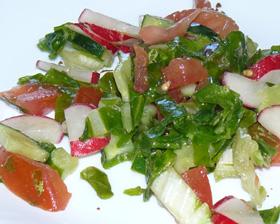 Vėlyvojo pavasario salotos