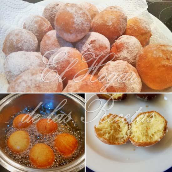 Castagnole, un dulce italiano típico de Carnaval