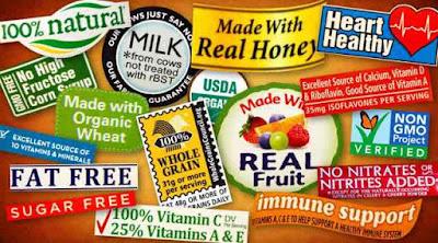 Maksud 'Sebenar' di sebalik Label Makanan Sihat