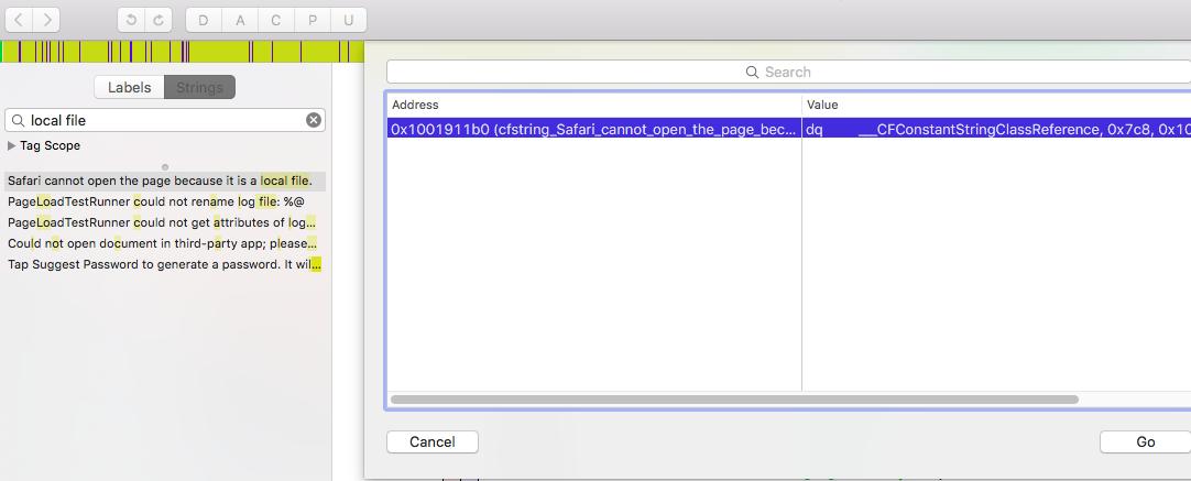 Light Bulb: A First Look at Tweak Development: Enabling File URL