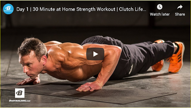 Ashley Conrad's Clutch Life Trainer Day 1 Strength Workout