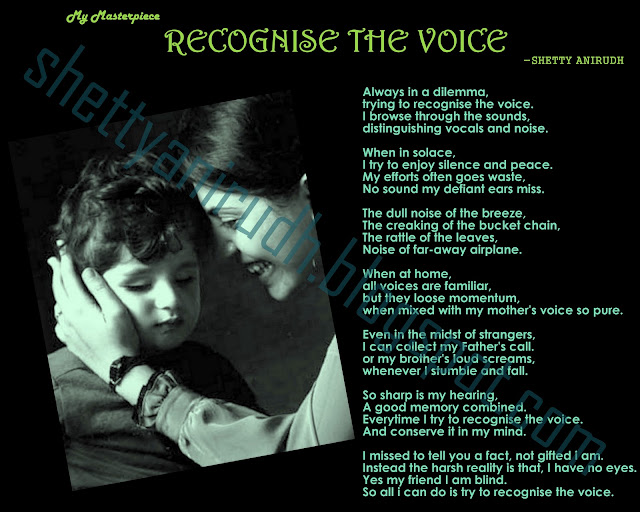 Poem Recognize the Voice