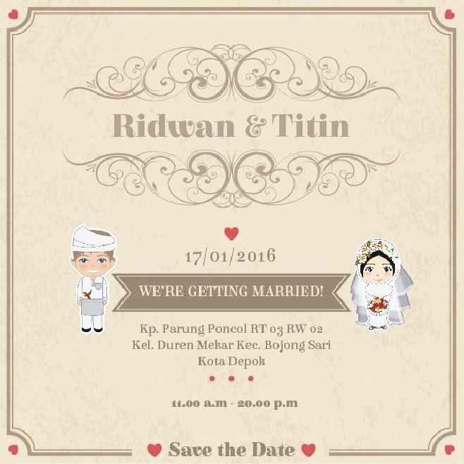 Undangan Pernikahan Via Online