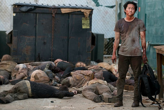 the dumpster that saved Glenn