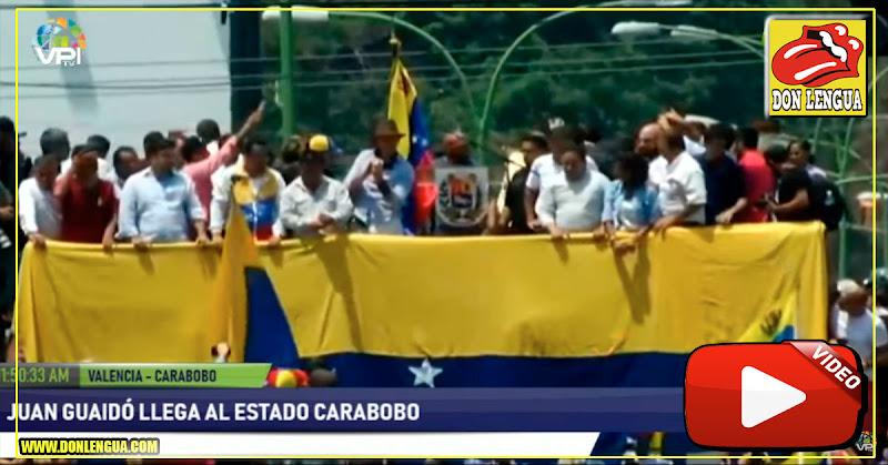 Juan Guaidó volvió a anunciar que muy pronto marcharemos a Miraflores