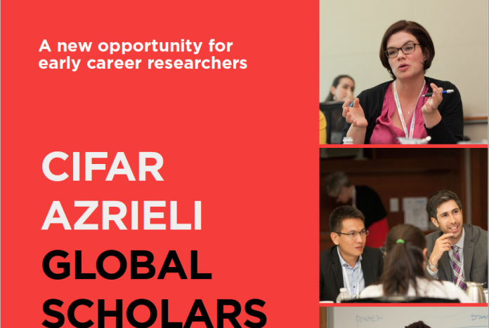 CIFAR Azrieli Global Scholars Program 2019