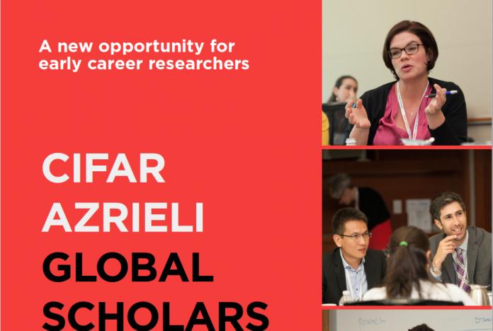 CIFAR Azrieli Global Scholars Program 2020