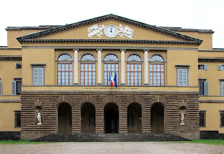 The Villa del Poggio Imperiale outside Florence