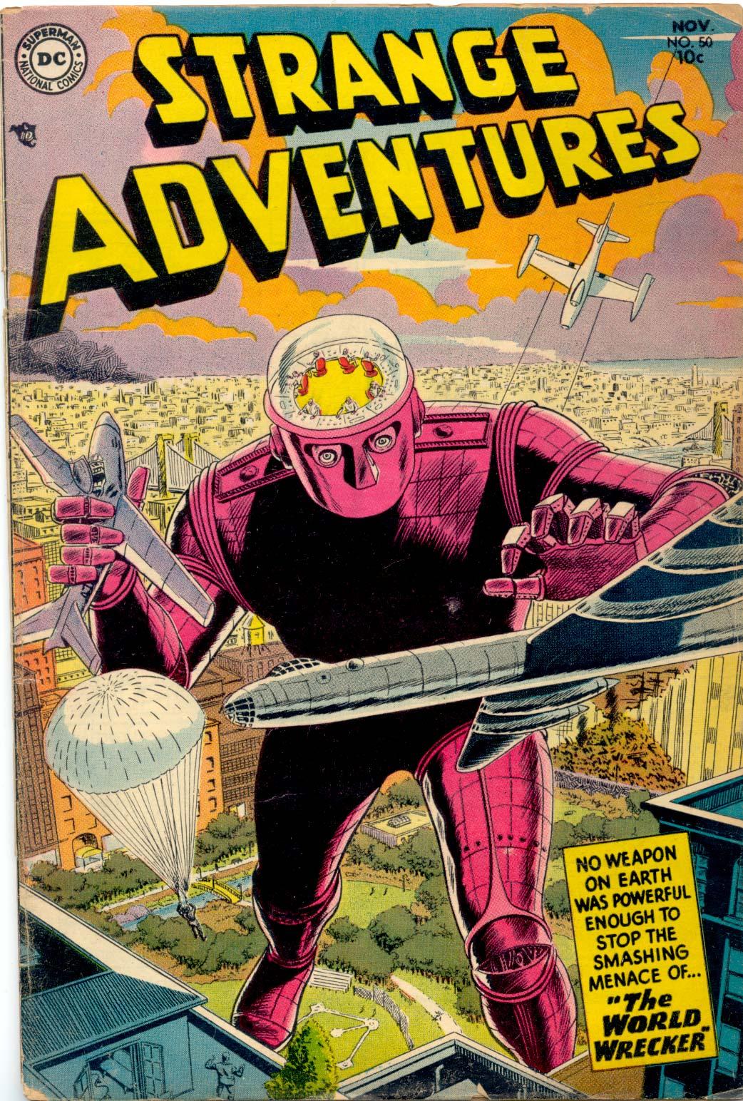 Strange Adventures (1950) 50 Page 1