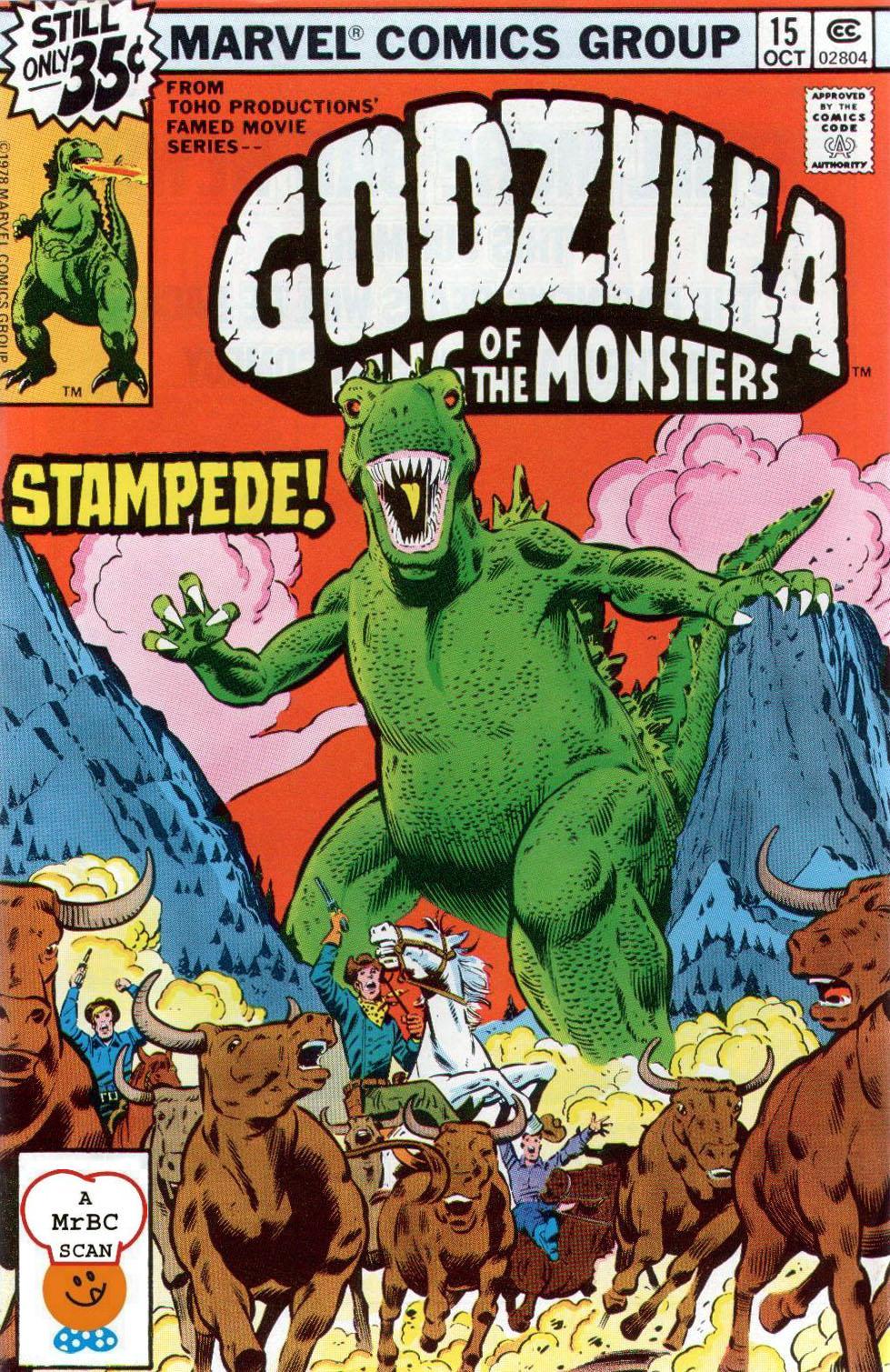 Godzilla (1977) 15 Page 1