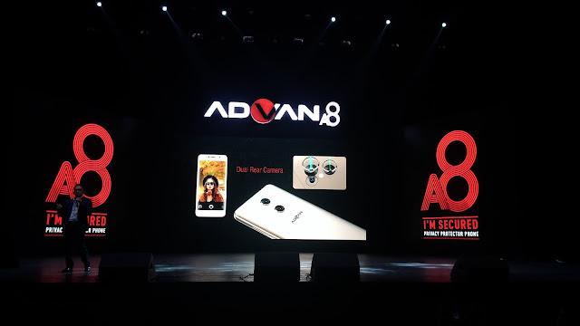 Aman dan Kekinian dengan Advan A8!