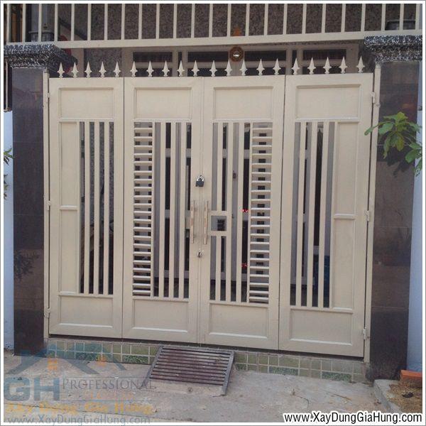Dịch vụ làm mới - sửa chữa cửa cổng sắt tại TpHCM