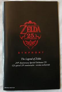The Legend Of Zelda - Skyward Sword - Folleto banda sonora portada