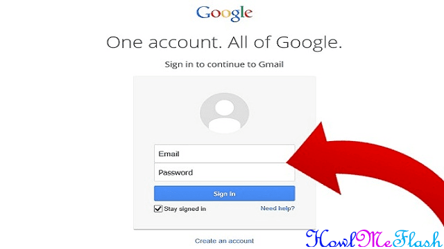 Recover a Gmail Password