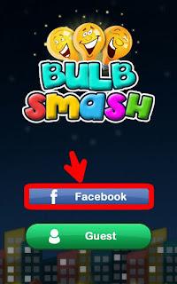 Cara Daftar Bulb Smash lewat facebook