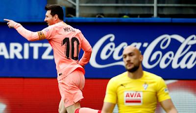 Barcelona vs Eibar gol de messi 2019