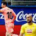 """El barsa con un Messi """"Enchufado"""" empato ante el Eibar"""