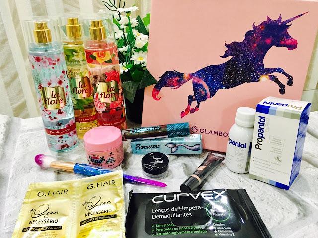 glambox #euacreditoemunicornios #descontoglambox alline fragoso aline fragoso outubro 2018
