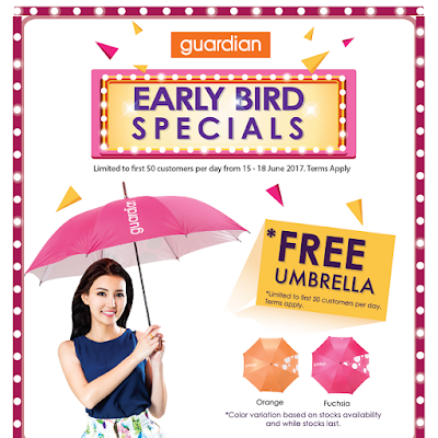 Guardian Malaysia Free Umbrella 1 Utama Store Relaunch