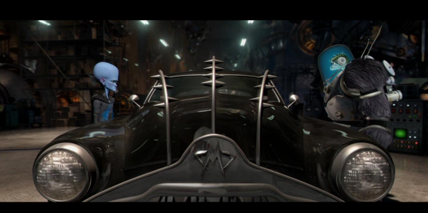 Angela Ensele Megamind Invisible Car