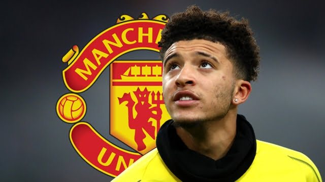 Borussia Dortmund Jadon Sancho Manchester united