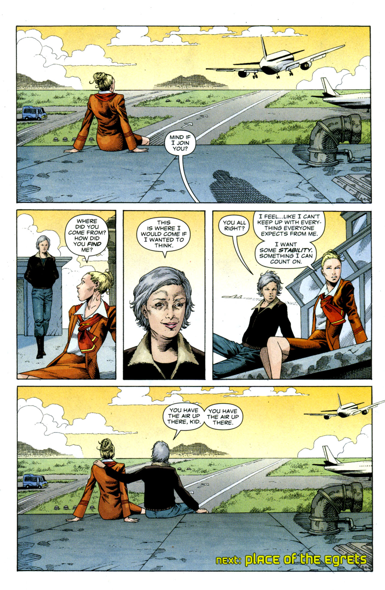 Read online Air comic -  Issue #9 - 24
