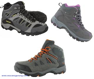 Daftar harga sepatu gunung Hi-Tec