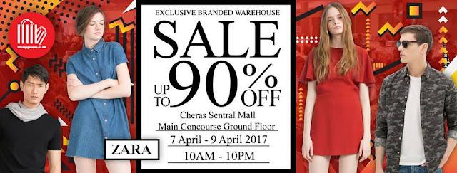 Zara Branded Warehouse Sale Discount Promo