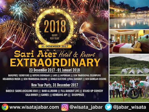 Event Malam Tahun Baru 2018 di Sari Ater