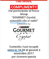 Logo Riceverai anche tu i kit omaggio Purina Gourmet Crystal ?