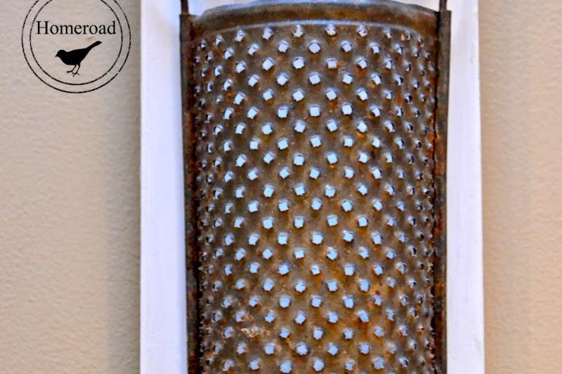 Vintage Grater Pencil Cup
