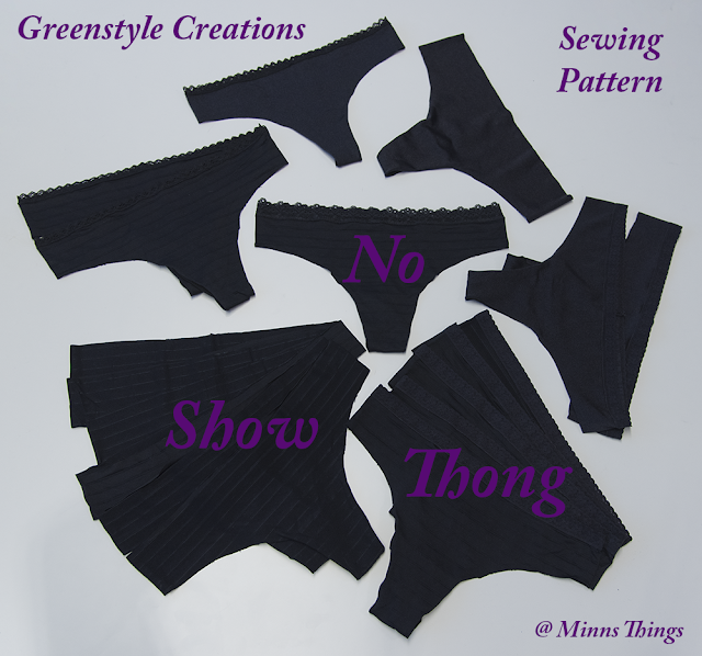 Making Lots Of Greenstyle Creations No Show Thongs