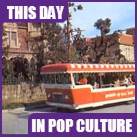Universal Studios Tram Tour began on July 15, 1964.