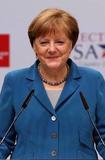المستشارة الالمانية أنغيلا ميركل.